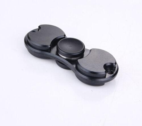 UK Tri-Spinner Fidget Spinner EDC Aluminum Hand Finger Spinner Focus Toys Gift