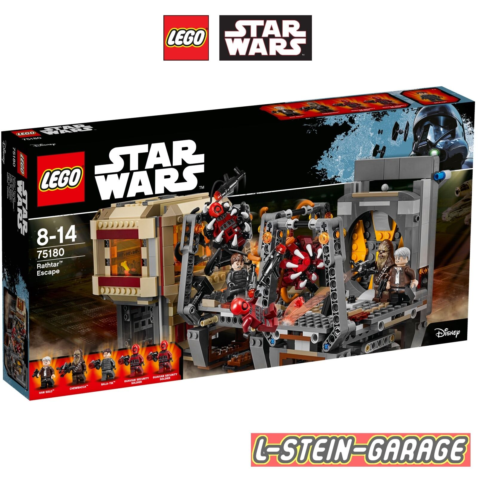 LEGO® Star Wars 75180 Rathtar™ Escape Neu & OVP