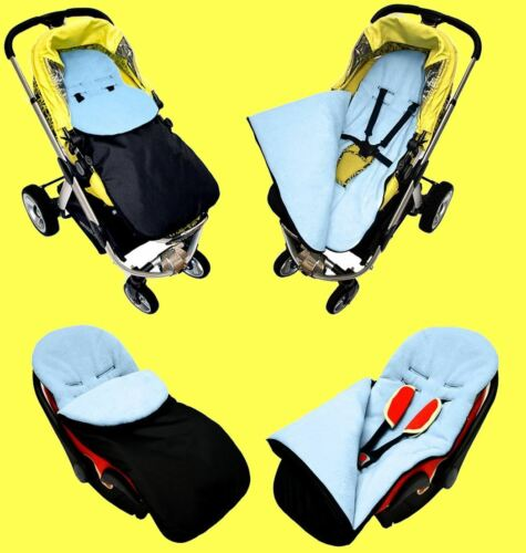 Pushchair Stroller Buggy Cosytoes Footmuff Universal Luxury WOOL Lined P270