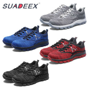 d6f5cc00613c2 Details about SUADEEX Mens Safety Working Boot Steel Toe Cap Trainer Hiker  Sport Shoes