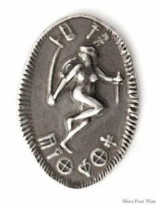 Dejah Thoris pure Silver Ten Pi - John Carter of Mars