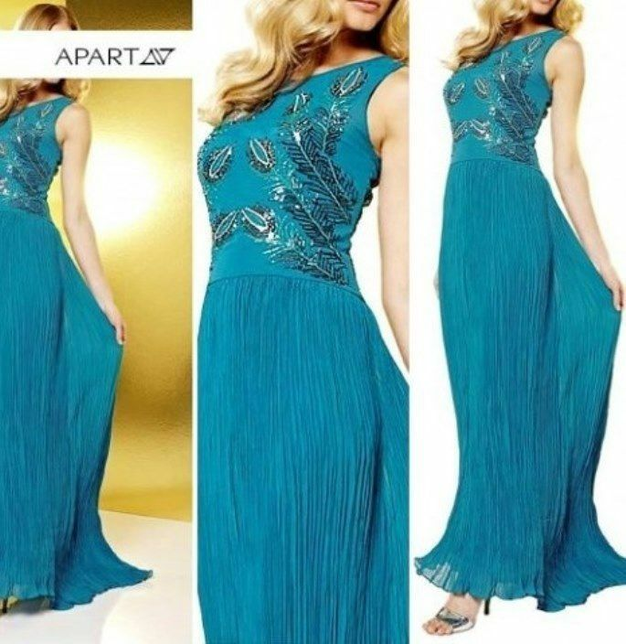 Kleid von APART, Gr.38 Abendkleid NEU Damen STARK rotUZIERT
