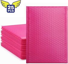 Fu Global 5 Pink Bubble Mailers 105x16 Inches Padded Envelopes Pack Of 25