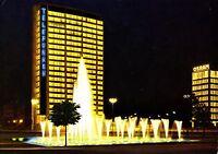 Berlin , Ernst-Reuter-Platz mit Springbrunnen , Ansichtskarte , 1961 gelaufen