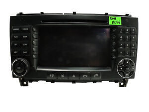 MB-MERCEDES-CLK-W209-GPS-NAVIGATION-RADIO-NAVI-SAT-NAV-COMAND-HIGH-HEAD-UNIT-ECE
