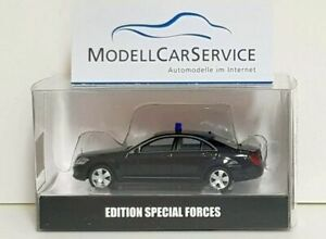 Herpa-Special-Model-1-87-938280-MB-S-CLASS-W221-State-Limousine-Armored-Sec