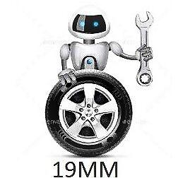 16 x Tuercas de Rueda de aleaciones Ford Focus MK1 MK2 MK3 ST RS 12 X 1.5 Pernos De Perno Hexagonal 19MM