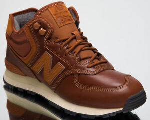 check out f31ed 2d1a6 New Balance 574 Mid Top Men's Lifestyle Shoes Brown 2018 New ...