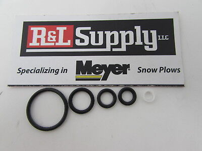 Snow Plow,Crossover O-ring Kit,NEW,4-orings Meyer  15610