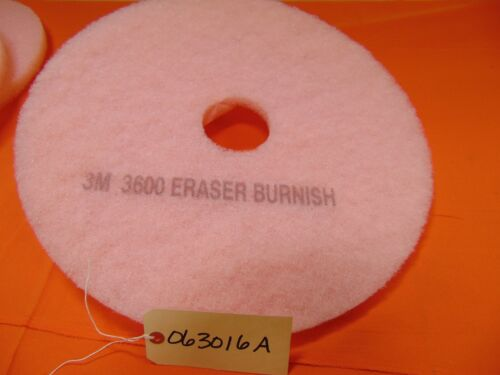 """4 boxes of 5 = 20 total pads 3M 20/"""" Eraser Burnish Pads"""