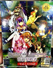 Outbreak Company: Moeru Shinryakusha (1 - 12 End) ~ 2-DVD SET ~ English Sub ~