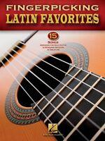 Fingerpicking Latin Favorites Sheet Music Guitar Solo Book 000699842