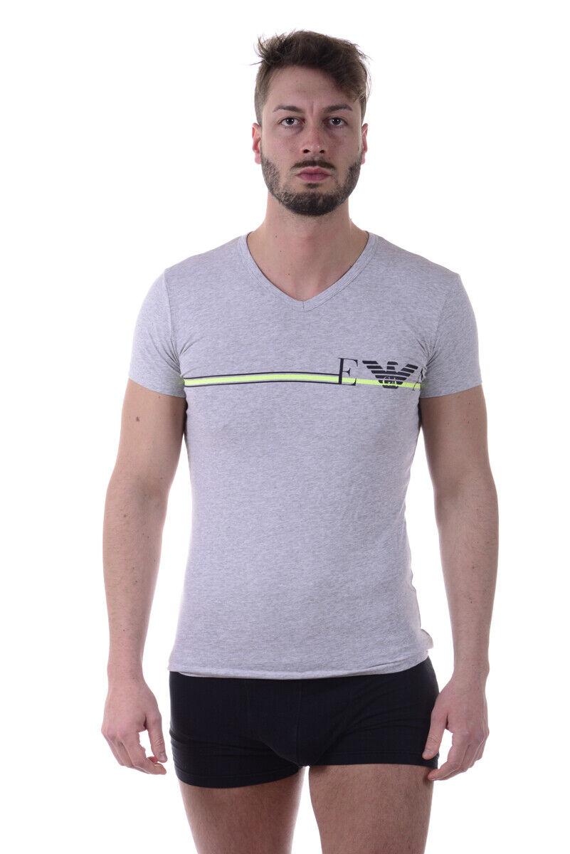 T shirt Maglietta Emporio Armani Sweatshirt Cotone herren grau 1108107P525 48