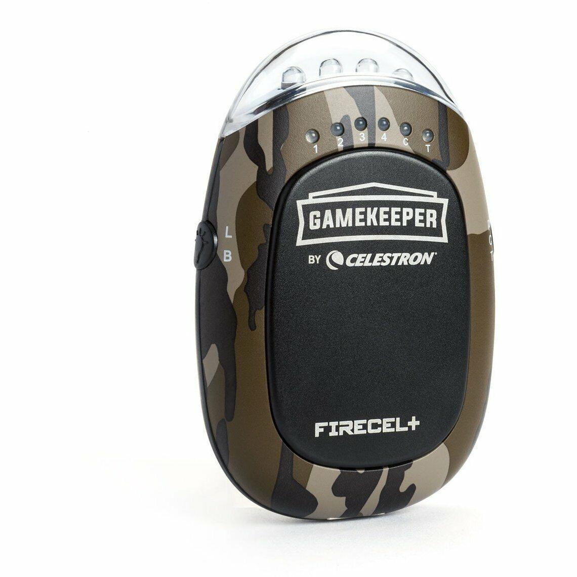 Celestron Gamekeeper FireCel+ Portable 5200 Power Bank in Camo #93549 (UK) BNIB