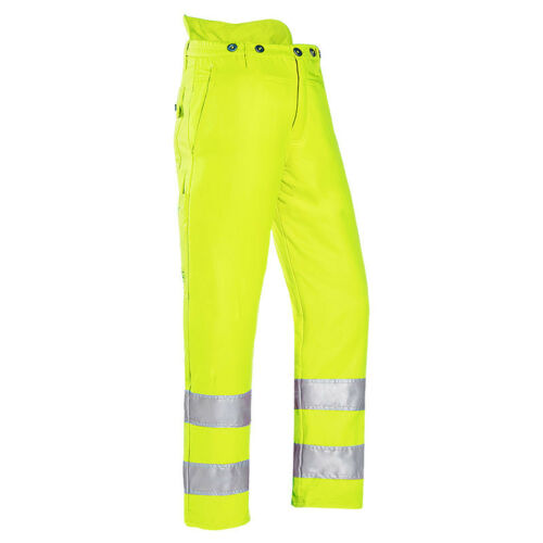 Hi-Viz Yellow Type A Protective CHAINSAW Trousers 1SP9 SIP