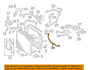 bmw oem 00 03 x5 4 4l v8 radiator hose 17111439125 ebay rh ebay com 2001 New BMW 4 4 Liter Engine 2003 X5 BMW 4 4 Liter Engine