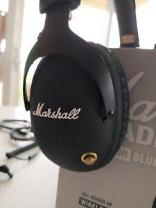 Authentique-Marshall-Royaume-Uni-Moniteur-Casque-Bluetooth-en-parfait-etat-boite-Acc