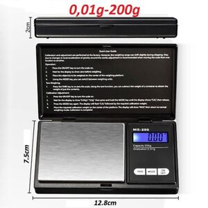 Balanza-de-precision-Bascula-digital-0-01-200gr-Balance-Scale