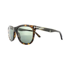 095fb1e6854 Tom Ford Sunglasses 0500 Andrew 52N Dark Havana Green 664689828654 ...