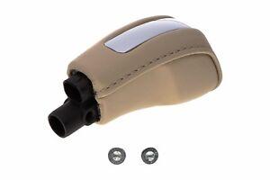 2010-2015-Lincoln-MKS-Transmission-Gear-Shift-Knob-Handle-Camel-Tan-Leather-OEM