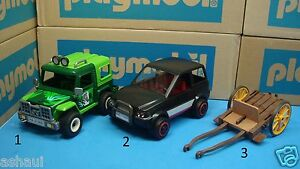 playmobil 4059 police series car truck knights wagon. Black Bedroom Furniture Sets. Home Design Ideas