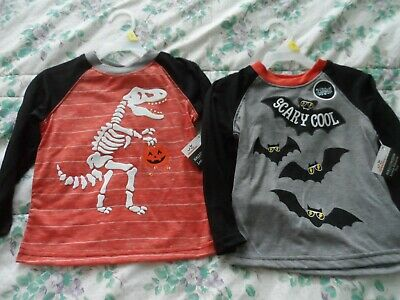 Boys Dinosaur with Pumpkin Fall Shirt