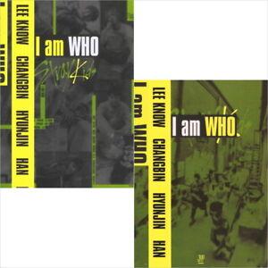 Stray-Kids-I-Am-Who-2-Type-CD-Photobook-QR-Photocard-New
