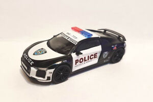 Details About Tarmac Works Audi R8 V10 Plus Police Protect Serve 1 64