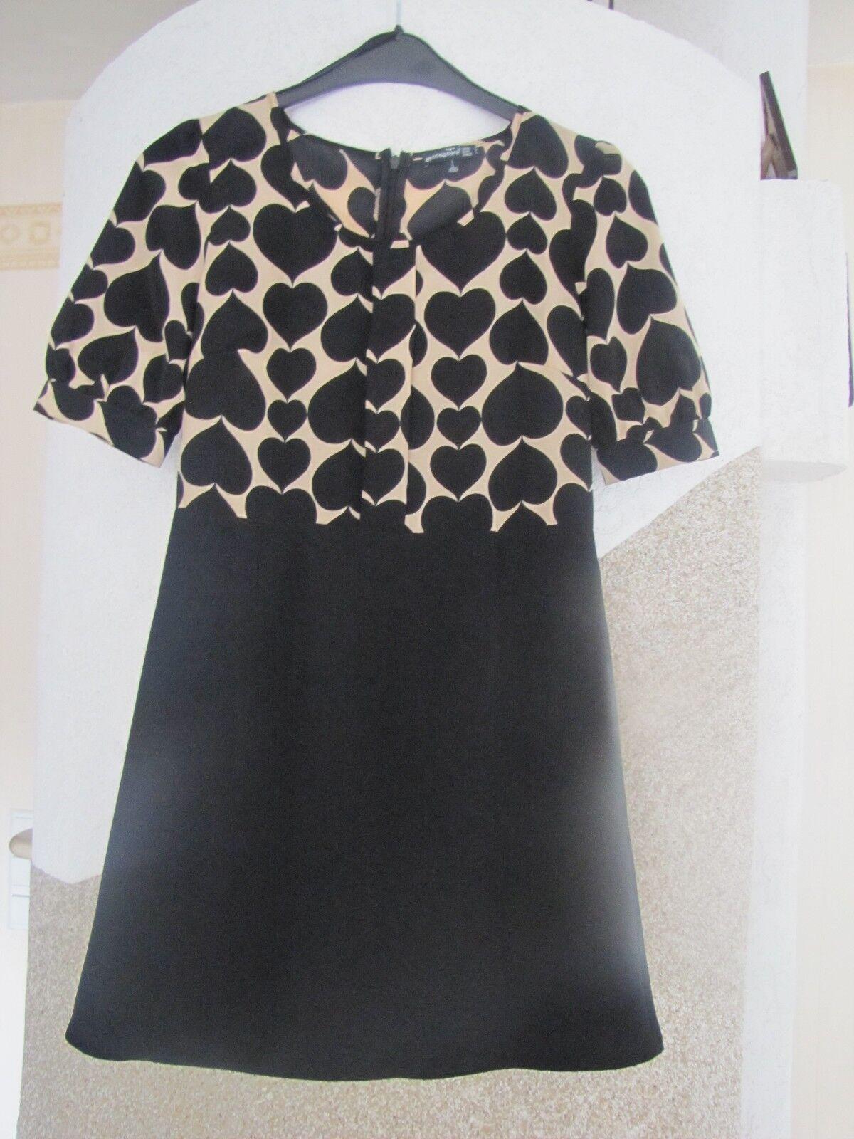 93acb230e32 Hondrocream ist die Schnellste Gr 36 designer Kleid mit Herzen sehr schön  ausgefallen ausgefallen ausgefallen Maße beachten d38963