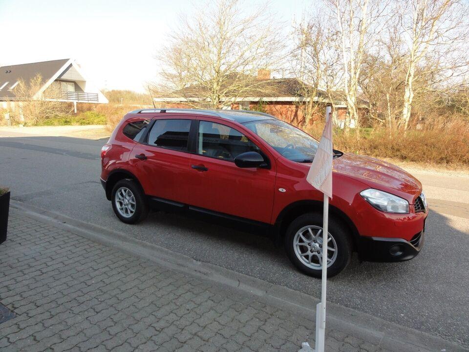 Nissan Qashqai+2 1,6 Visia 7prs Benzin modelår 2013 km