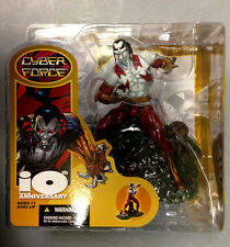 2002 MCFARLANE TOYS SPAWN IMAGE 10TH ANNIVERSARY RIPCLAW CYBER FORCE FIGURE SET