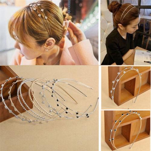 Details about  /Fashion Women Jewelry Metal Crystal Rhinestone Headband Hair Band Head banY*ss