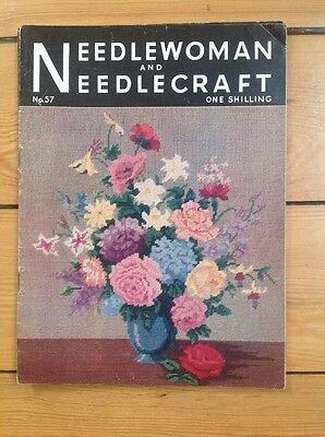 de enero de 1950 Nº 41 Vintage needlewoman y Needlecraft Revista