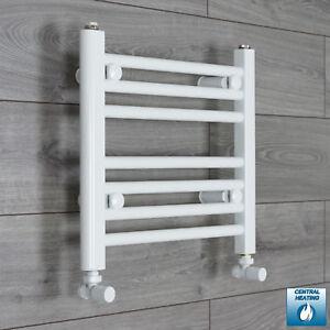 White Heated Towel Rail Rad Bathroom Radiator Rad Central ...