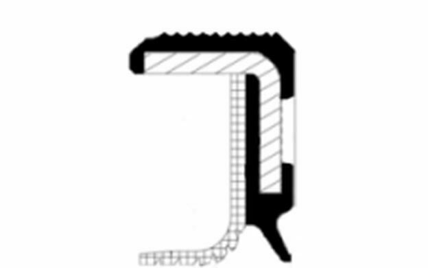 1 CORTECO Paraolio Albero a gomiti Parte frontale 33 75 Tre volumi SPIDER 500