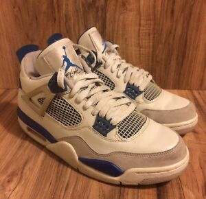 hot sale online 34624 27803 Image is loading RARE-Nike-Air-Jordan-IV-4-Retro-Military-