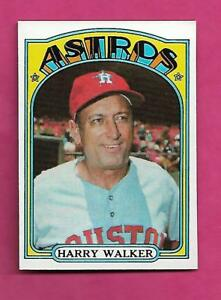 1972-TOPPS-249-ASTROS-HARRY-WALKER-MANAGER-NRMT-CARD-INV-A8545