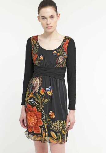 New Spanish Desigual Long sleeved dress