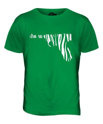 Zebra Pistola Camiseta Top Para Hombre Camiseta Regalo Segunda Guerra Mundial