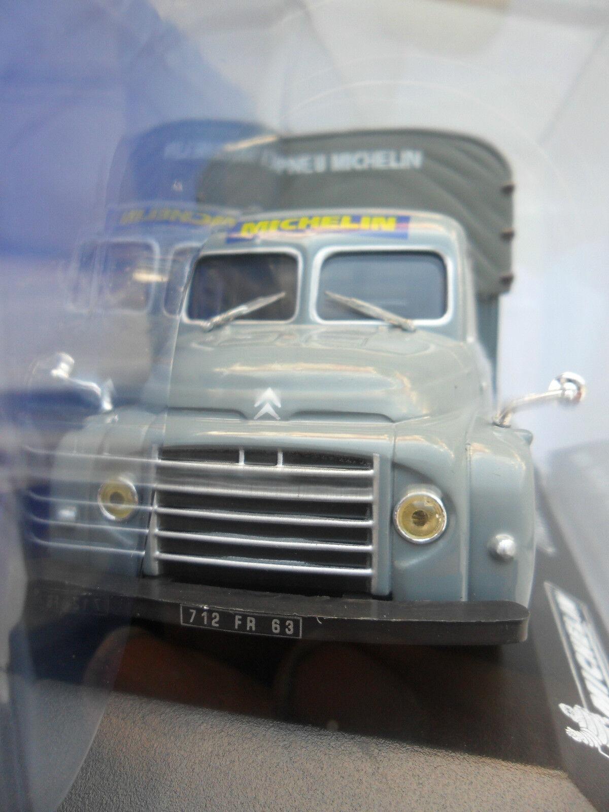 CITROEN U23 BACHE USINE MICHELIN MICHELIN MICHELIN Colección officielle diecast camión de la segunda guerra mundial 2 1 43 829070