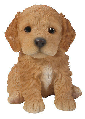 Vivid Arts NEW Golden//Brown Cockapoo Pet Pal Puppy Ornament