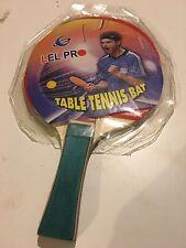 Lot of 4 Lel Pro Table Tennis Bat Wood Ping Pong