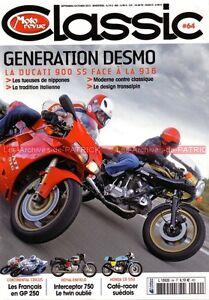 MOTO-REVUE-CLASSIC-64-DUCATI-900-SS-916-Royal-Enfield-750-HONDA-CB-550-Four