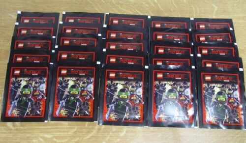 LEGO ® The Ninjago Movie Cartes De Collection 25 Sachets numérotés NEUF