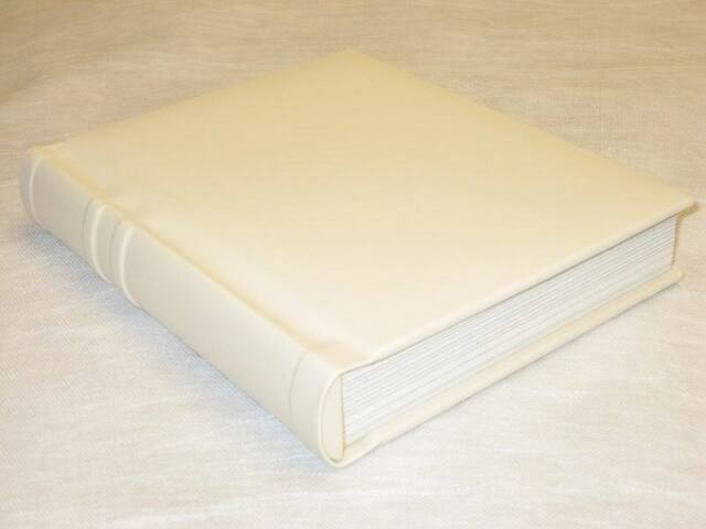 Professional 8x10 Ivory Slip In Wedding Parent Photo Album Holds 20 Photos Scrapbooking Go Arts Crafts Sewing