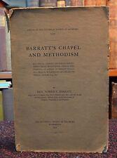 Barratts Chapel & Methodism Historical Address Delaware Wilmington Pamphlet 1911