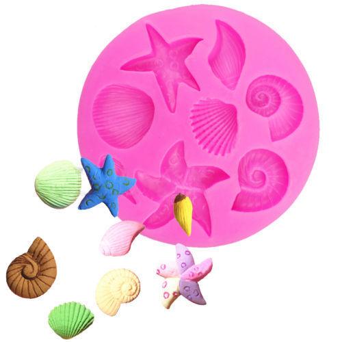 3D Starfish Sea Shells