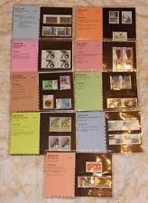 Nederland Complete jaargang 1986 PTT mapjes - 9 mapjes postprijs ƒ 21,60