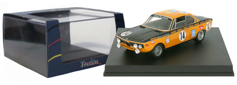 Trofeu 2701 BMW 2800 CS Winner 24H Spa 1970 - Kelleners Huber 1 43 Scale