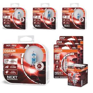 OSRAM-Night-Breaker-LASER-Next-Generation-150-H1-H4-H7-H11-HB3-Light-Bulbs